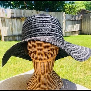 Black Straw Hat!